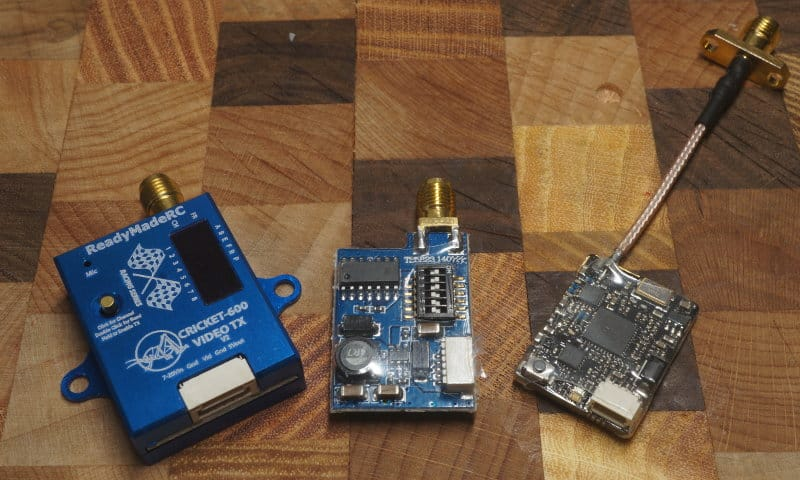 different video transmitter models